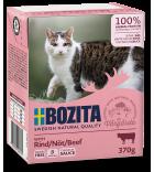 Bozita Cat konservai katėms su jautiena padaže