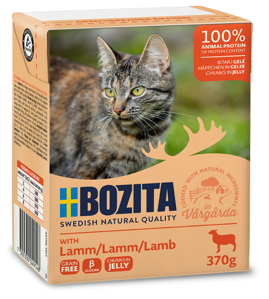 Bozita Cat Lamb in jelly