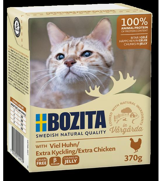 Bozita cat extra chicken in jelly