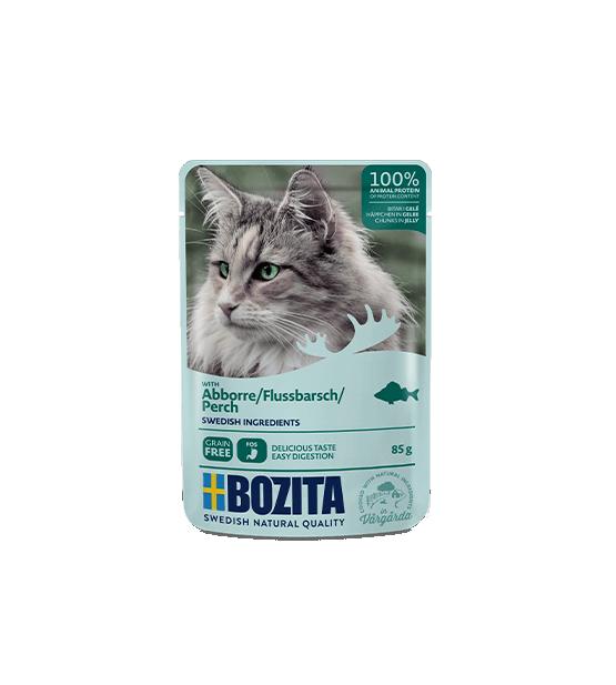 Bozita konservai katėms - ešerio gabaliukai drebučiuose
