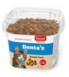 Sanal skanėstai katėms Denta's Cup 75g