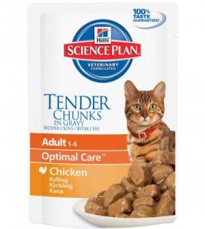 Hill's Sp Adult Feline Chicken pouch