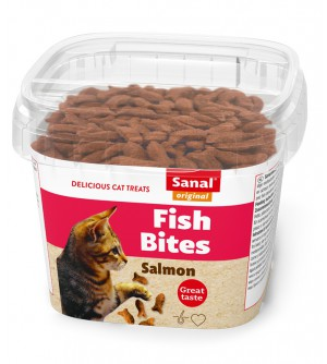 Sanal skanėstai katėms Fish bites 75g