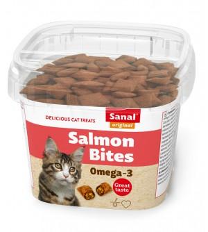 Sanal skanėstai katėms Salmon bites 75g