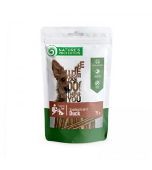 Natures Protection skanėstas šunims, sumuštiniai su antiena